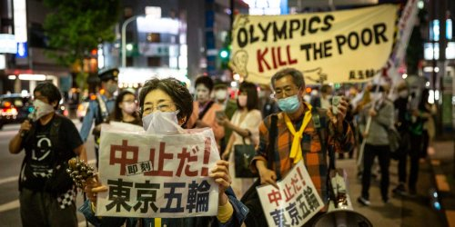 As Japan suffers another wave of COVID lockdowns and struggles to vaccinate its people, new poll shows more than 80% of citizens don't want the Olympics to go on