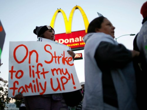 McDonald's has reportedly been collecting 'strategic intelligence' on unionizing workers as they fight for a $15 minimum wage
