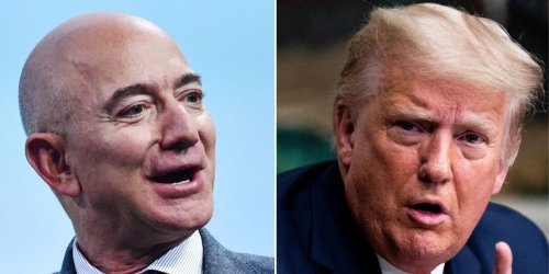 Jeff Bezos used to test Amazon's Echo Show by asking Alexa to play videos mocking Trump