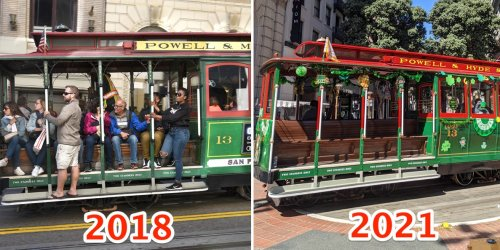 From dormant cable cars to closed shops, many San Francisco tourist spots feel pretty empty right now