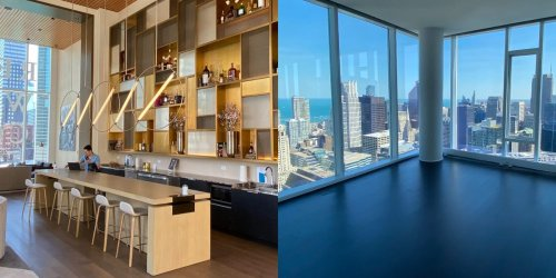 I toured penthouse apartments in Chicago where the wealthy pay $20,000 per month for private greenhouses and sweeping views — take a look inside