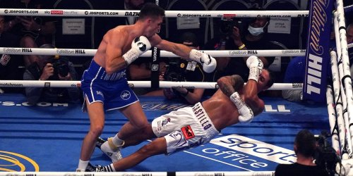 Callum Smith's knockout was so ferocious it left his opponent's body spasming on the canvas