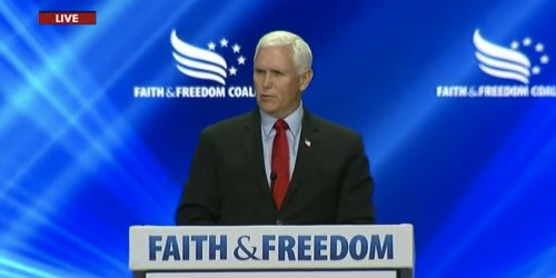 Mike Pence was booed and heckled with chants of 'TRAITOR!' at a conservative conference