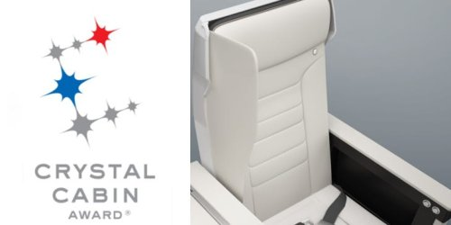 An innovative new airline seat just won an industry award — take a look at the design that could be the future of air travel