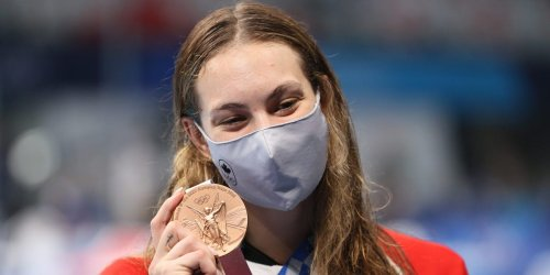 Canada's most decorated Olympian mocked an old teacher who told her to stop swimming, calling them the 'worst of all time'