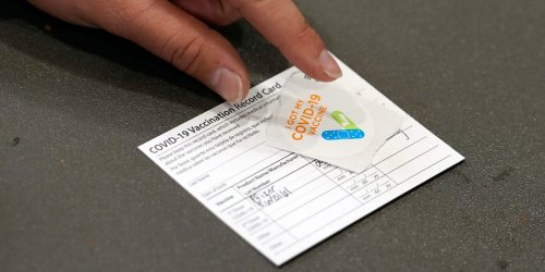 An eBay account reportedly sold over 100 fake COVID-19 vaccination cards in two weeks