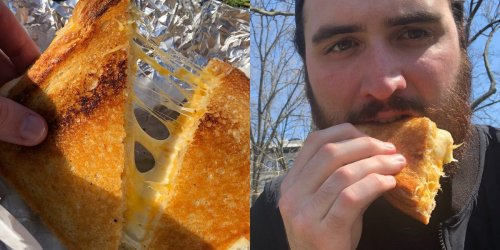 I tried the best grilled cheese in New York City, and its 'secret blend' of cheeses was simple yet delicious