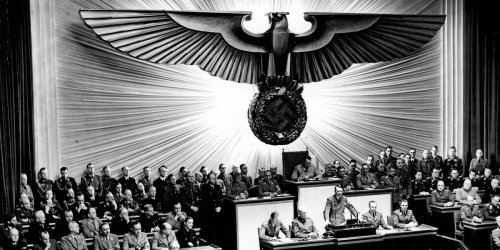 PHOTO: The moment Hitler declared war on the US