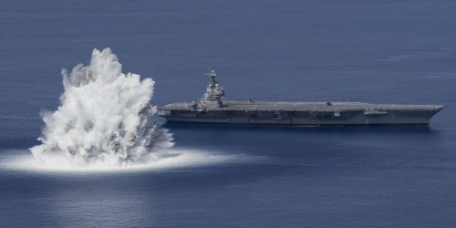 The challenge for future US Navy aircraft carriers is much closer to home than China's missiles, top Democrat says