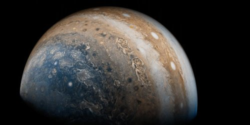10 years after NASA launched its Juno mission to Jupiter, these are its most stunning images of the gas giant