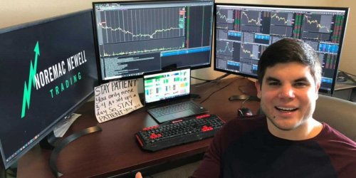 Cameron Newell says he earned $5 million day-trading stocks in 2020. He breaks down how he decides which companies to buy and shares his top 4 trading strategies.