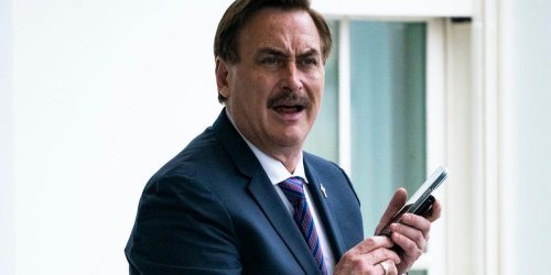 Mike Lindell slammed Fox News for not reporting his lawsuit against Dominion during another rant about the media