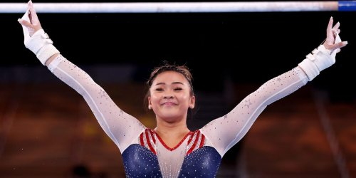 Sunisa Lee, the first Hmong American to compete in the Olympic Games, wins gold in all-around gymnastics