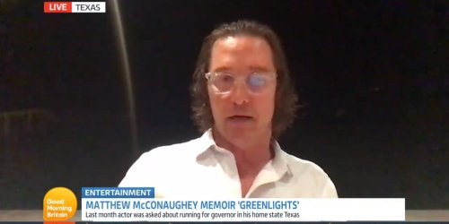 Matthew McConaughey doubled down on comments about the 'illiberal left' in an interview with Piers Morgan