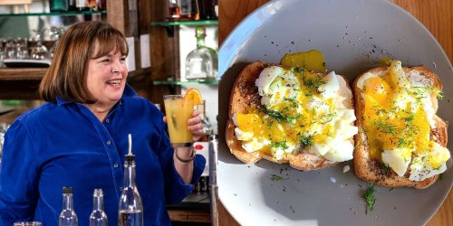 I made Ina Garten's smashed eggs on toast, and the elevated brunch dish only took me 15 minutes
