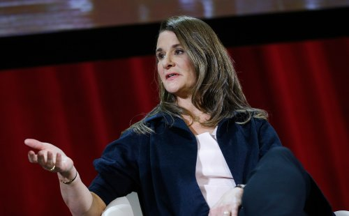 Melinda Gates says the economy is 'built on the backs of women's unpaid labor' and if Congress won't do something to fix it, the US won't be able to fully reopen