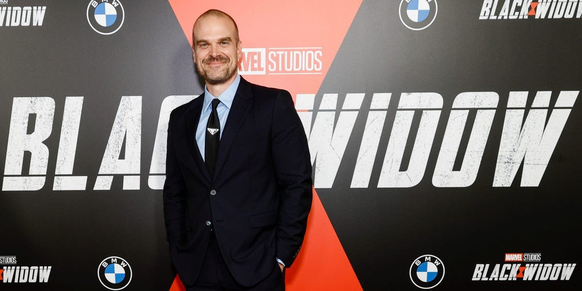 David Harbour says he had no idea 'Black Widow' was being made and was just hanging out in London when he scored 'one of the biggest gigs' of his life