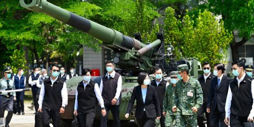 Taiwan's president confirms the US military is training troops on the island as the threat from China grows
