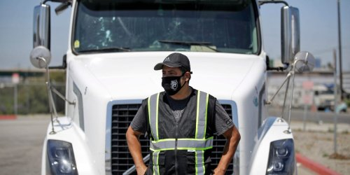 Truckers are getting six-figure salaries as food suppliers scramble to find drivers – and it's pushing up the price of fryer oil and chocolate by as much as 50%