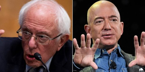 Bernie Sanders is trying to block Jeff Bezos' Blue Origin from getting $10 billion NASA funding for a moon-landing mission