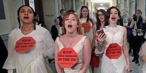 Child marriage traps girls in an inescapable legal hell. But it is still legal in 46 US states.