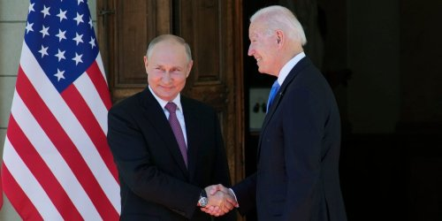 Putin says 'there is no happiness in life' after his meeting with Biden