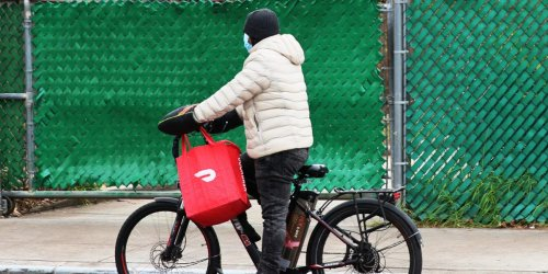 Young people are masquerading as food delivery drivers to jump the queue for COVID-19 vaccines, report says
