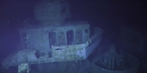 WATCH: Haunting footage from the submersible that just visited the world's deepest known shipwreck