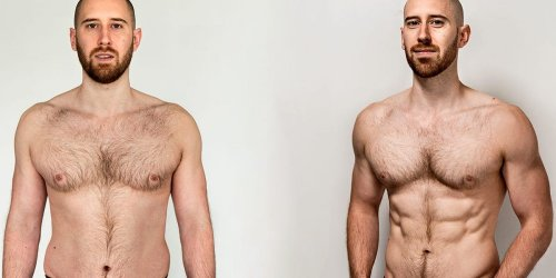 A YouTuber lost 10 lbs fat and gained 2 lbs muscle without a gym — just using at-home strength training and calorie control