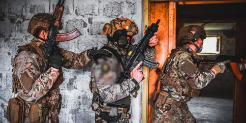 US Navy SEALs are training to fight on land and water in a 'strategic location' near Russia