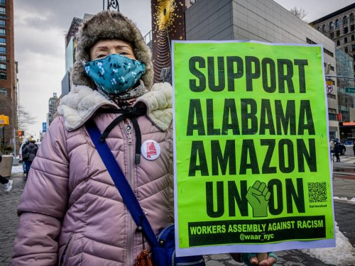 More than 1,000 Amazon workers across the US have asked about unionization following the historic union vote at an Alabama warehouse