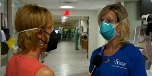 COVID-19 patients in ICUs at a Florida hospital are 'begging' to be vaccinated, nurse says