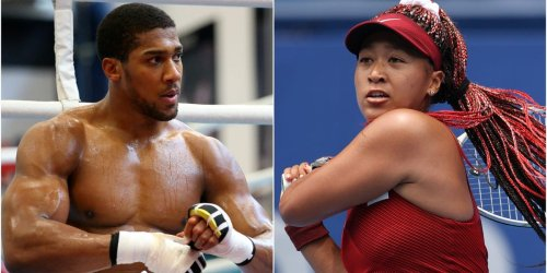 Olympic athletes like Naomi Osaka and Anthony Joshua don't count calories — they rely on intuitive eating to fuel their workouts