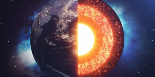 Earth's core is growing lopsidedly, a new study suggests — and it's been doing that for at least half a billion years