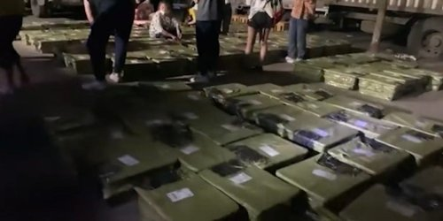 A Chinese online shopping site was accused of animal cruelty after shipping out $1.50 'mystery boxes' filled with live puppies and kittens were found, many of whom had suffocated or starved in transit