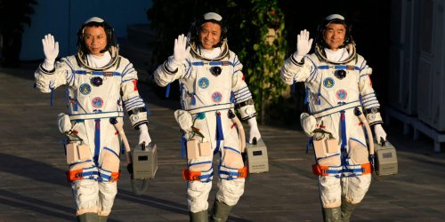 3 Chinese astronauts have returned from a record-breaking visit to China's new space station