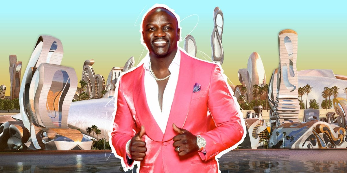 Akon is masterminding a $6 billion smart city in Africa backed by a shadowy investor in which life will be funded by 'Akoin'