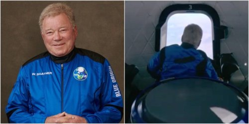 Video from Blue Origin's spaceship shows William Shatner gazing at Earth: 'No description can equal this'