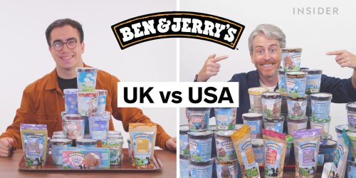 Every difference between UK and US Ben and Jerry's