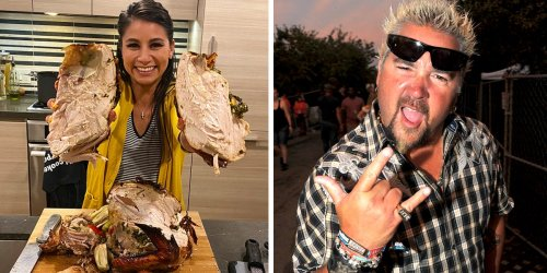 I cooked an entire Thanksgiving dinner using only Guy Fieri recipes, and it was a 10-hour roller-coaster through Flavortown