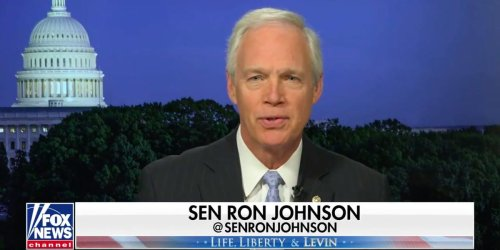 GOP Sen. Ron Johnson said the Capitol riot wasn't an armed insurrection because people were 'staying within the roped lines'