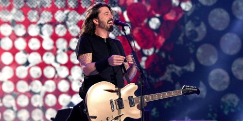 Foo Fighters held a show for vaccinated fans only. Anti-vaxxers including former child star Ricky Schroder protested outside.