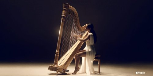 'Most music is Black music.' This Juneteenth, harpist Madison Calley is challenging classical stereotypes