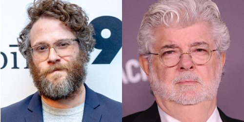 Seth Rogen said George Lucas once told him he couldn't board his hypothetical spaceship if the world ended