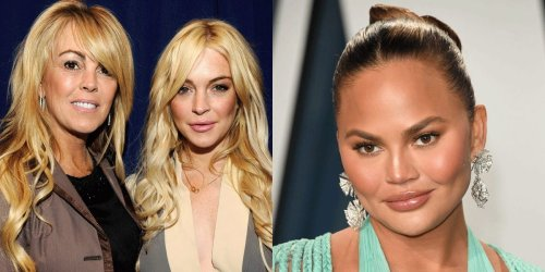 Lindsay Lohan's mom speaks out after Chrissy Teigen's 2011 tweet about the actress resurfaces online