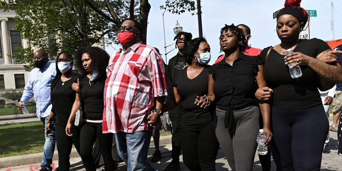 Jacob Blake's family says they'll protest in DC and fight for justice in Congress until 'we're heard' after no charges were bought against the officer who shot him