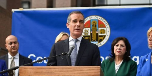 Mayor Garcetti announces that Los Angeles will require city employees to show proof of vaccination or test weekly