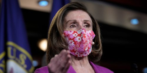 Nancy Pelosi is keeping a mask mandate on the House floor despite CDC guidance and pushback from Republicans