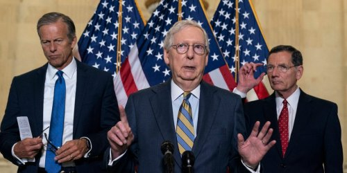 McConnell opposes a bill restoring a key part of the John Lewis Voting Rights Act, dashing all hope of any congressional action on voting
