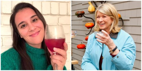 I made Martha Stewart's Christmas punch, and the easy holiday cocktail tastes like a winter sangria